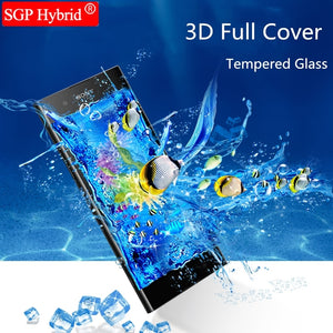 3D Tempered Glass For Sony Xperia XA1 Plus XA 1 Ultra G3221 G3223 XA1Plus XA1Ultra Screen Protector Phone Protective Film glas