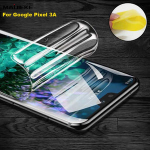 Soft Front Hydrogel Film For Google Pixel 3A XL 3XL 3 2XL 2 Full Cover TPU nano Explosion-proof Front Screen Protector film