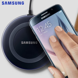Original 2A QI Wireless Charger for Samsung Galaxy S6 S7 S8 S9 Plus Note 9 8 for iPhone X Xs MAX XR 8 plus USB Phone Charger
