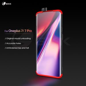 GKK Original Case for Oneplus 7 pro Case 360 Full Protection Shockproof Matte Hard 3 In 1 for Oneplus 7 pro Cover Coque Fundas