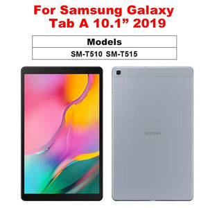 Screen Protector For Samsung Galaxy Tab A 10.1 2019 10.5 2018 9D Full Coverage Tempered Glass Flim For Galaxy Tab S5e S4 S3 S2