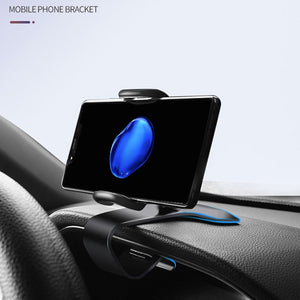 New HUD Type Clip On Car Dashboard Mount GPS Cell Phone High Quality Holder Bracket Stand For Huawei P30 P20 P10 pro lite Mate