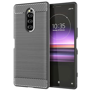 For Sony Xperia 1 Case Silicone Rugged Armor Soft Back Cover Case For Sony Xperia 10 Plus Phone Fundas Coque Cases