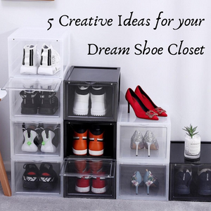 5 Creative Ideas for your Dream Shoe Closet