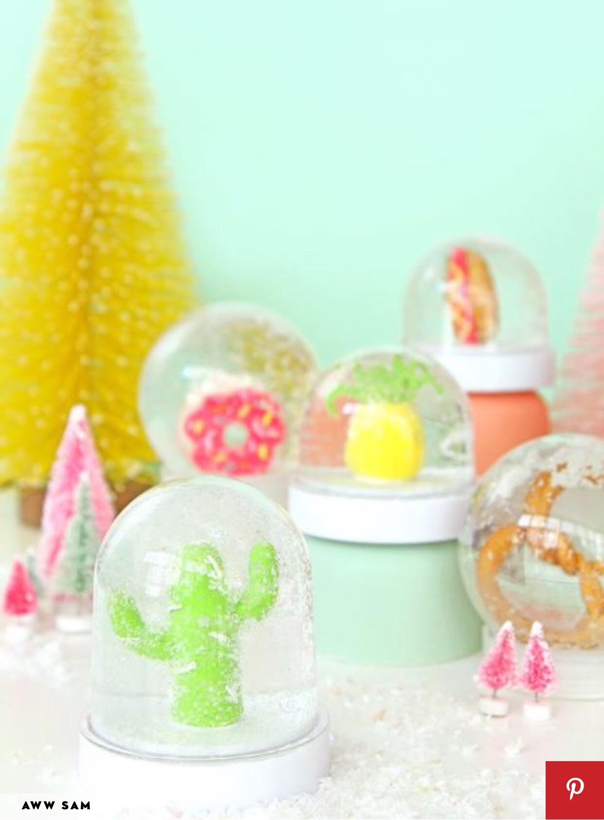 4 DIY Snow Globes That Are Completely Charming