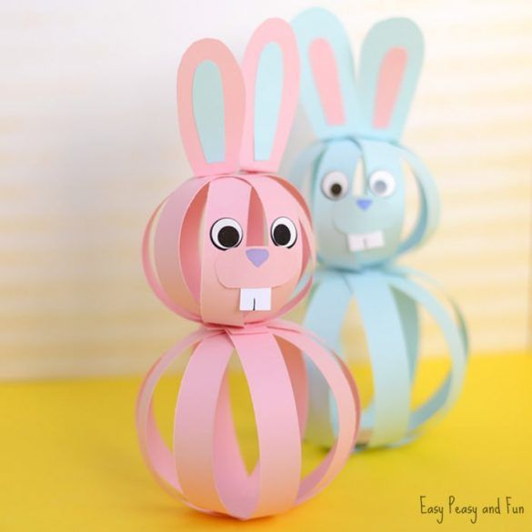 4 Easter Crafts to Make with Your Kids