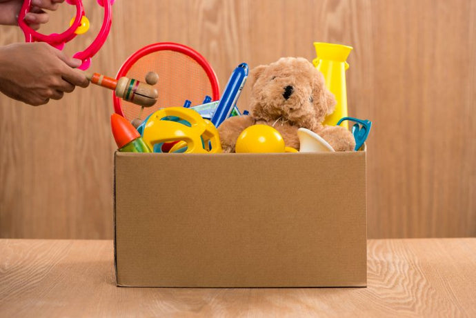 4 Steps to Declutter Your Kids Toys