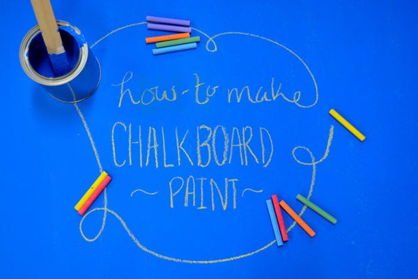 Making Chalkboard Paint at Home