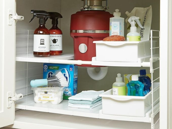 5 Easy Tips On How To Organize Under Your Kitchen Sink