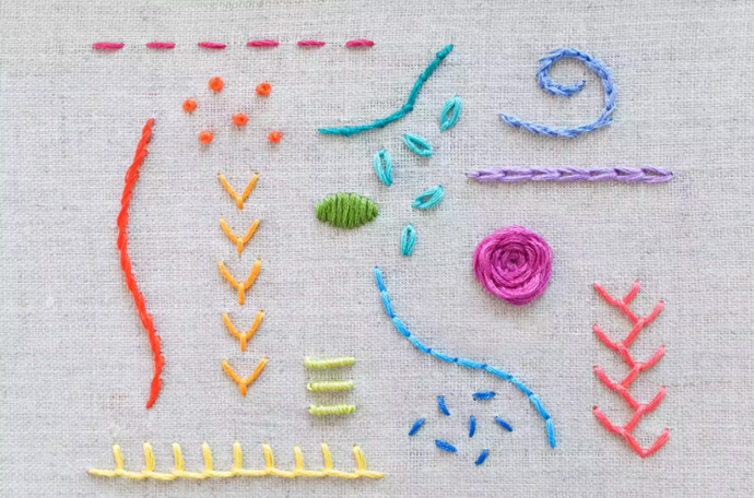 5 Sample Stitches Every Embroiderer Should Know