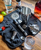 13-Piece Cocktail Shaker Set Mixology with Carry Bag