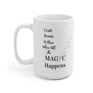 Craft Room. A Place Where All The Magic Happens
