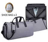 Convertible Garment Suit Travel Bag with 2 Shoe Bag