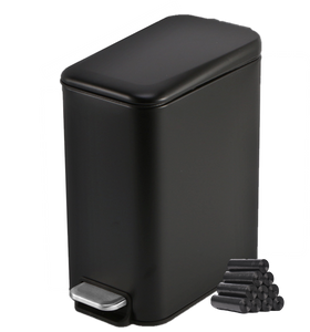 Rectangular Trash Can With Lid