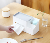 Cube Tissue Box With Holder
