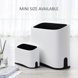 Plastic Wastebasket Trash Can 8.5 Liter / 2.2 Gallon