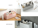 Stackable Mini Jewelry and Makeup Organizer Storage Set