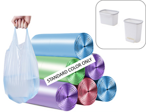 6 x 100 counts - 2-2.6 Gallon Small Trash Garbage Bags ( 54 % off! )