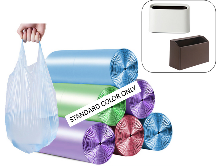 6 x 100 counts - Small Trash Garbage Bags ( 54 % off! )
