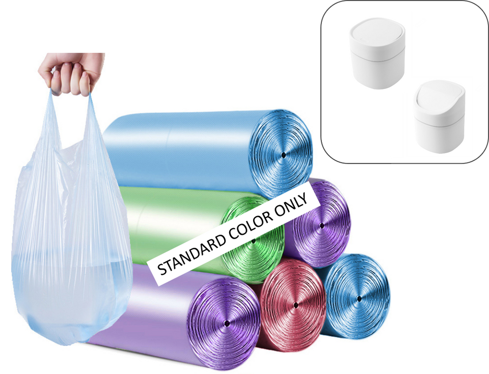 2 x 100 counts - 0.4 Gallon Small Trash Garbage Bags ( 25 % off! )  - 100 counts @ $9.99