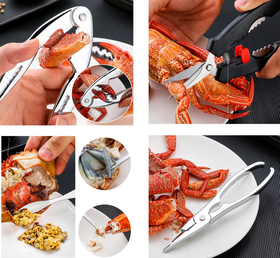 Party Like a Lobstar - Seafood Crab Utensils Tool Set