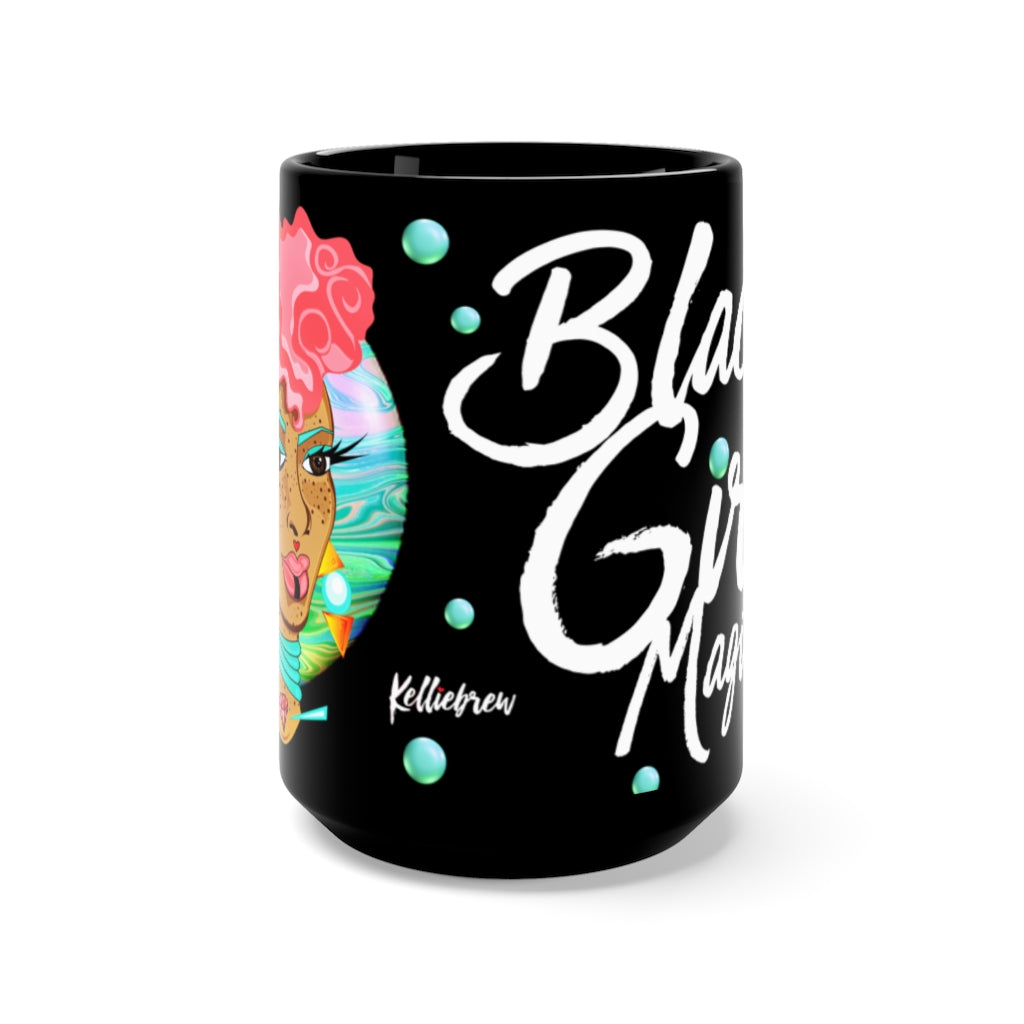 Black Girl Magic Galaxy Mug 15oz