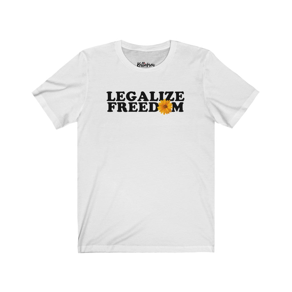 Legalize Freedom Jersey Short Sleeve Tee