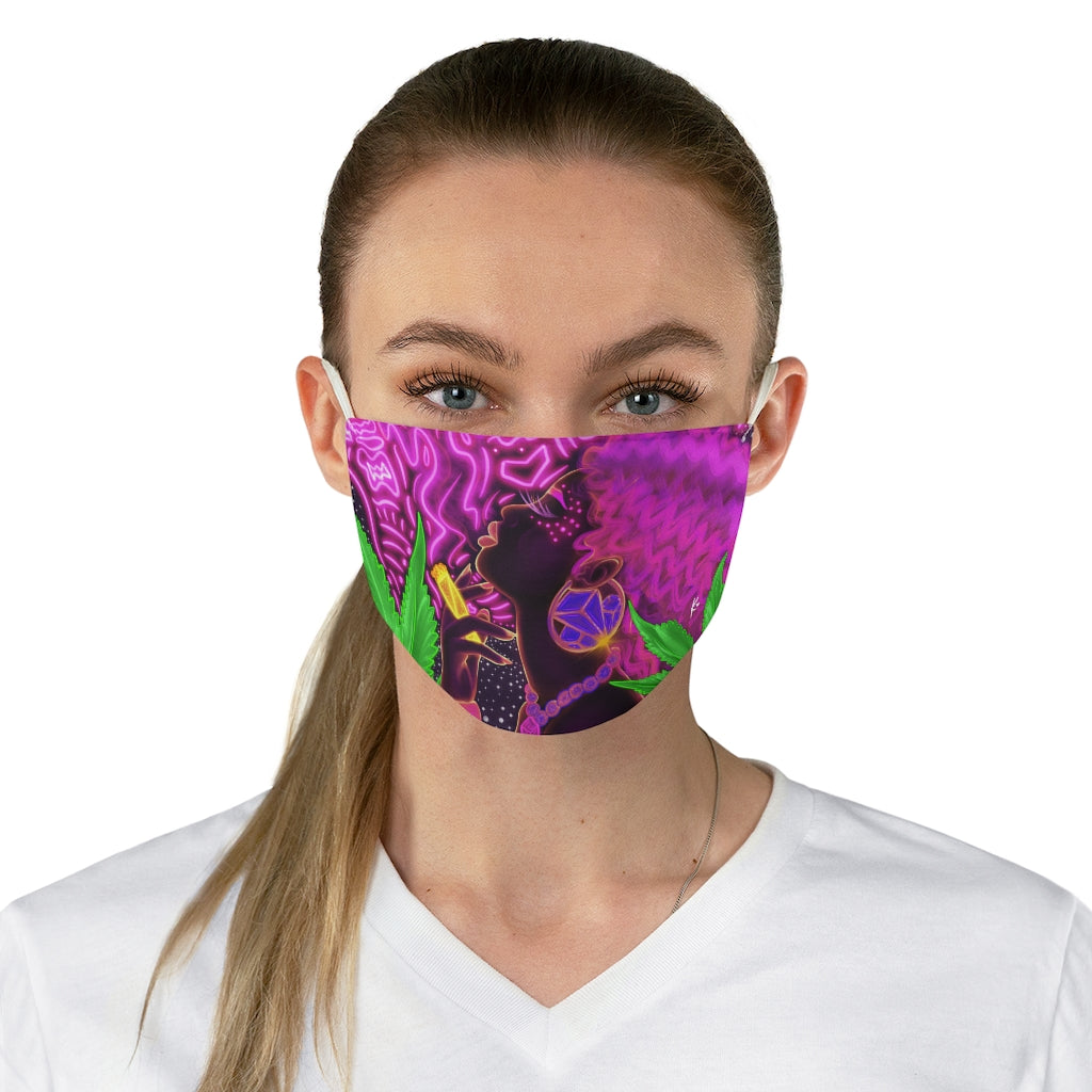 Galaxy Tincture Fabric Face Mask
