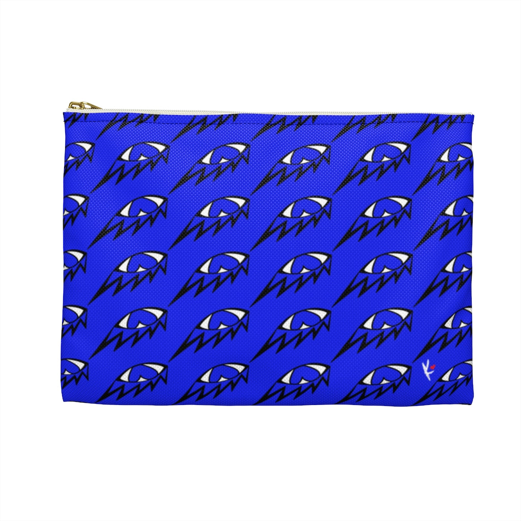 Blue Eye See You Accessory Pouch