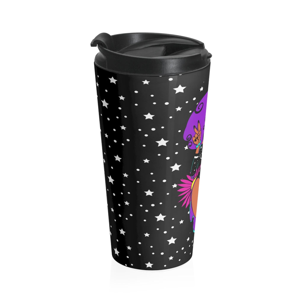 PEACE Stainless Steel Travel Mug