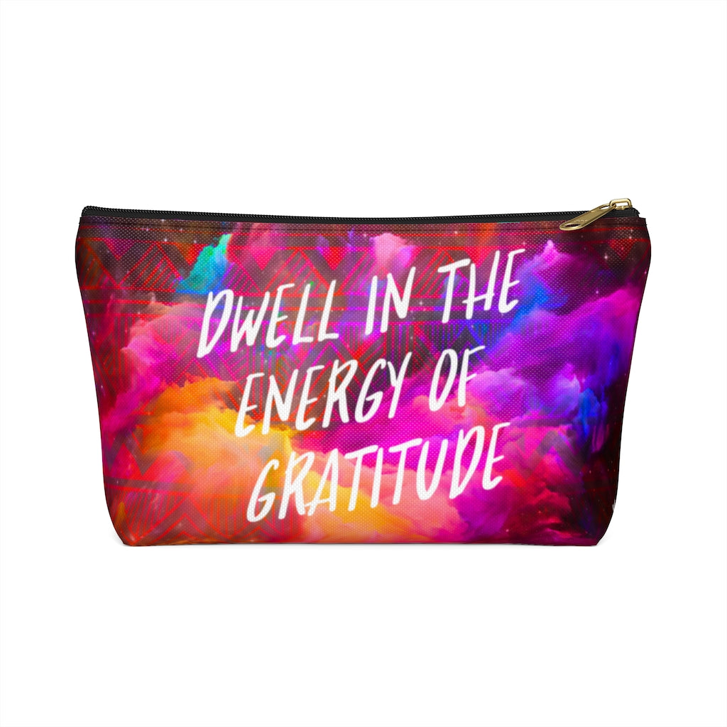 Energy of Gratitude Accessory Pouch