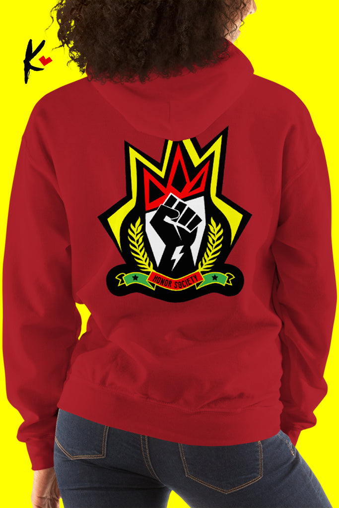 Honor Society Red Alert Hoodie