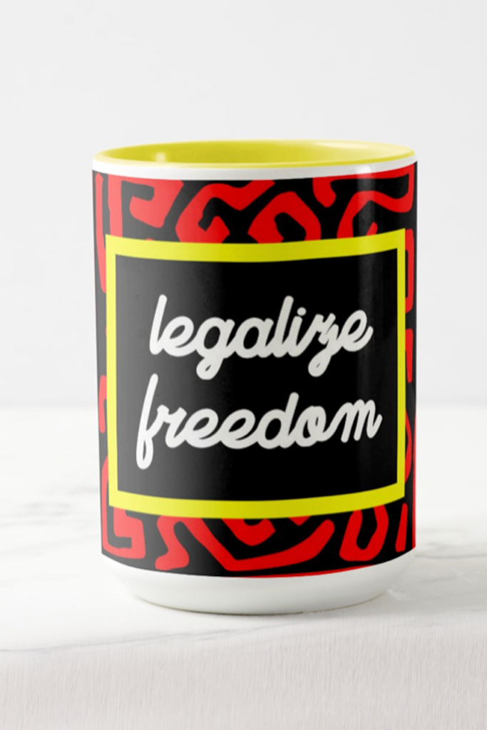 Leagalize Freedom Mug