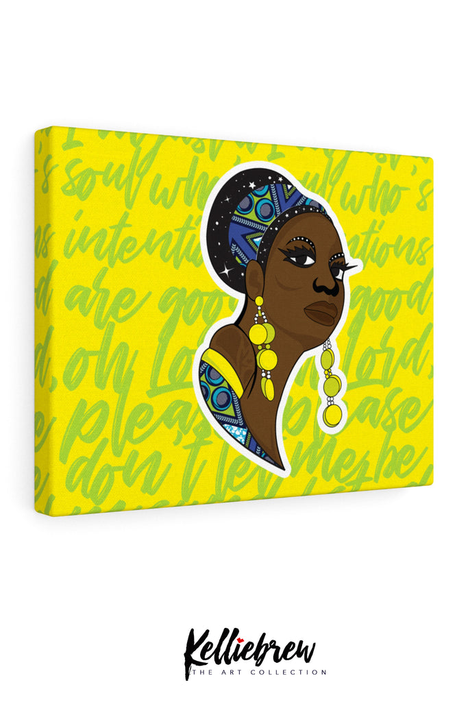 Nina Misunderstood Canvas Print 10x8