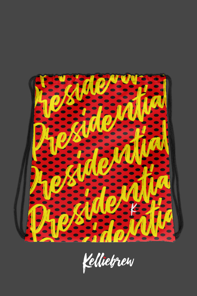 Presidential Drawstring Bag