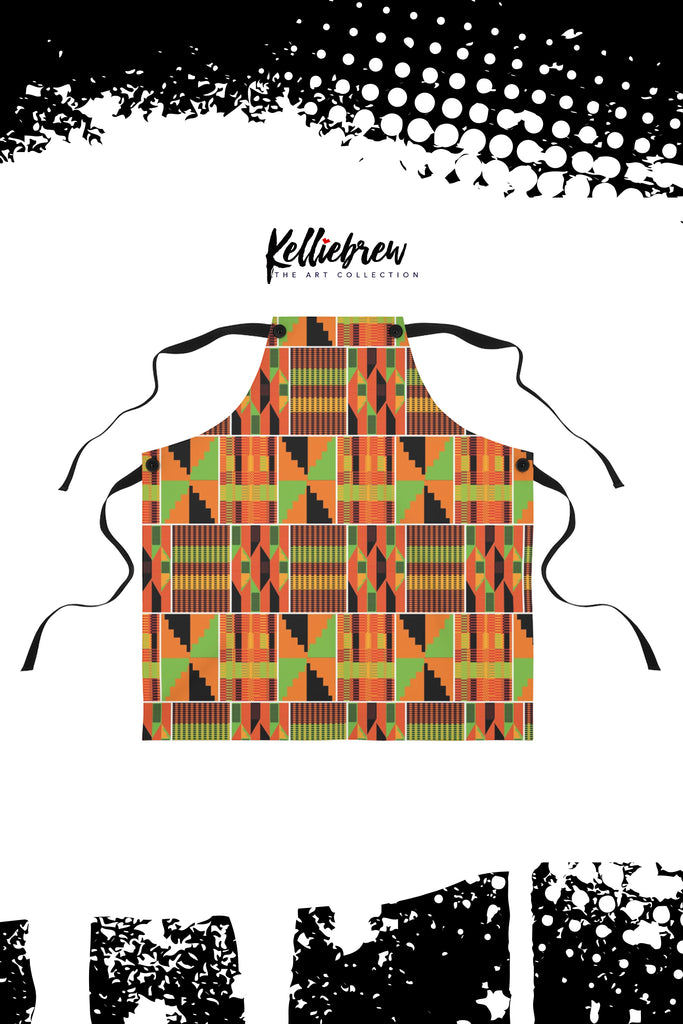 Kente Painter Smock