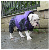Bulldog trouser suit raincoat ideal for pugs and bulldogs