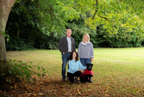 Treat Your Dog About Us Story Family Picture