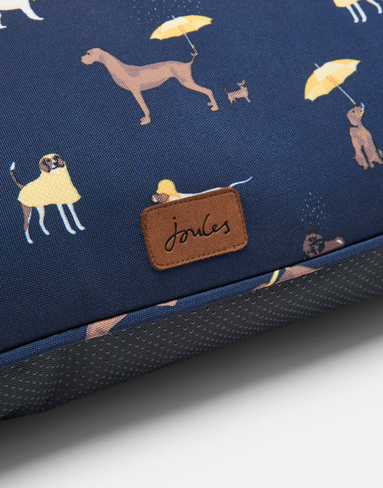 Joules Dog Print Mattress Bed for dogs