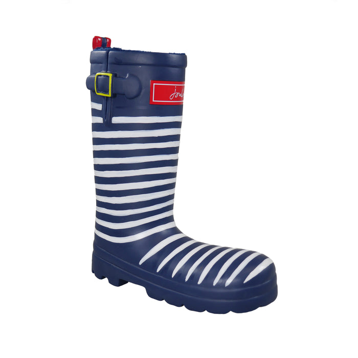 Joules Striped Welly Squeaky Dog Toy