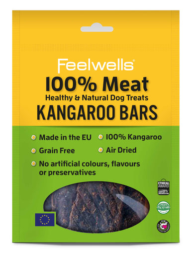 Feelwell's 100% Meaty Kangaroo Bars