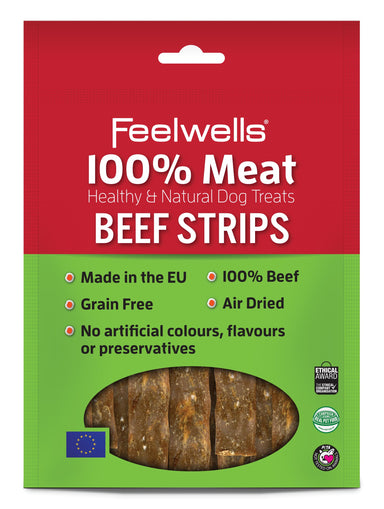 Feelwell's 100% Meaty Beef Strips