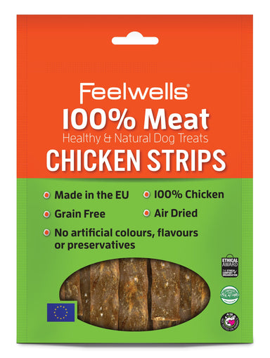 Feelwell's 100% Meaty Chicken Strips