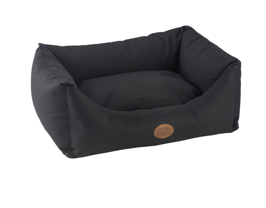 Waterproof Dog Bed in Charcoal Black