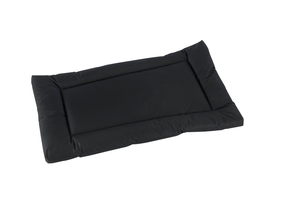 Waterproof Rectangular Dog Mat in Charcoal Black