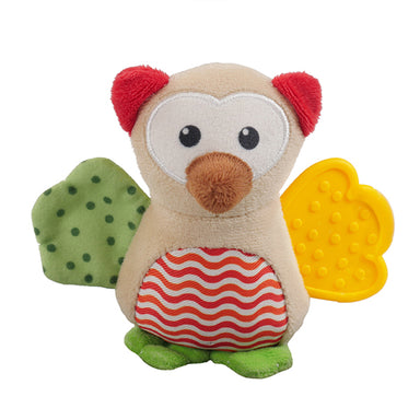 Wise Owl Puppy Dog Toy
