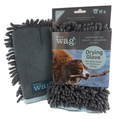 Microfibre Pet Drying Glove for Dogs by Henry Wag