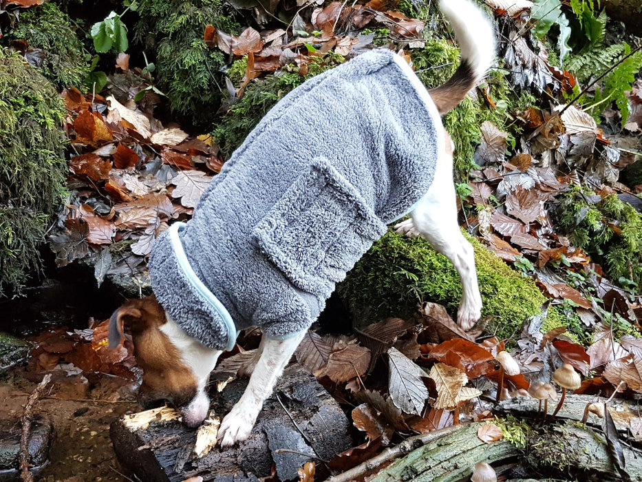 Microfibre Dog Drying Coat