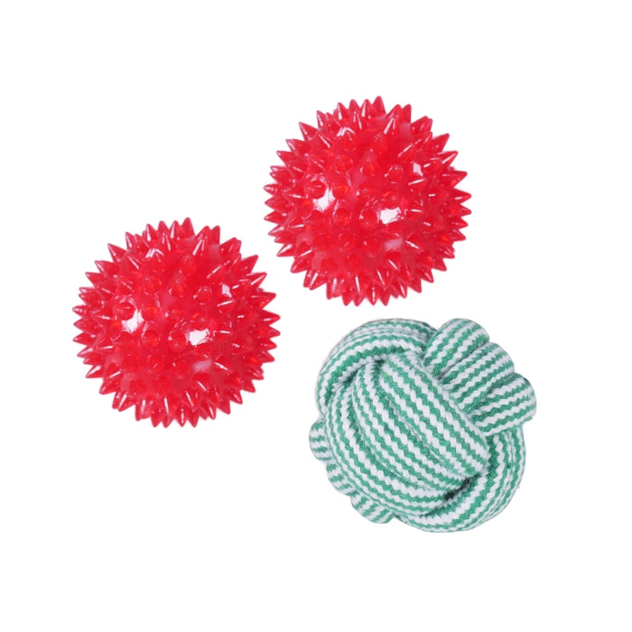 Dog Ball Gift Set Cracker