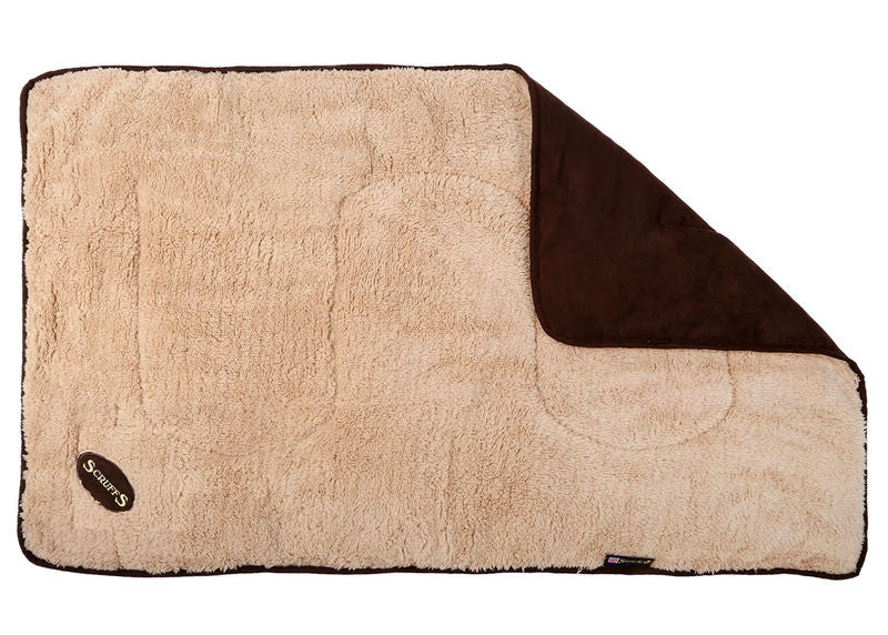 Scruffs Reversible Snuggle Blanket in Chocolate Brown